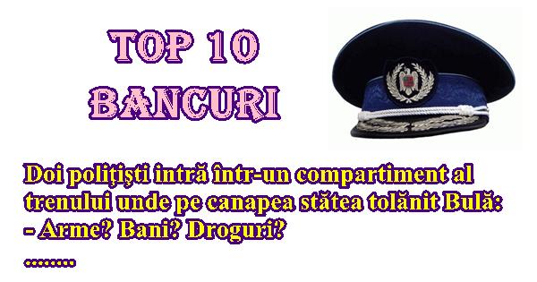 Top 10 bancuri foarte tari despre politisti