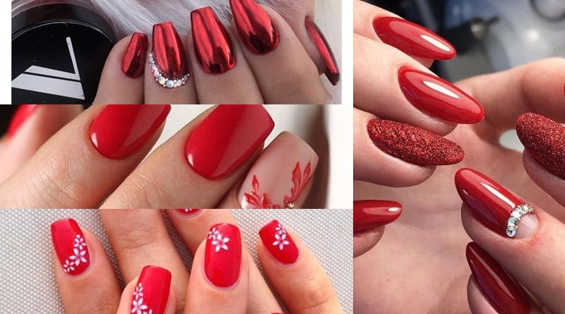 Modele de unghii roșii superbe pentru femeile moderne în 2020 - SteMir