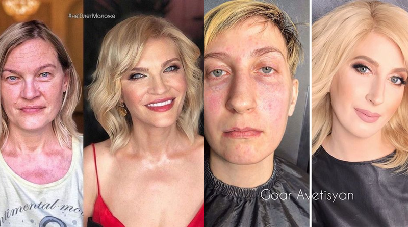 WoW! Puterea machiajului, transformări uimitoare: Înainte și după makeup! - SteMir