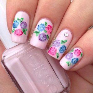 Manichiură fermecătoare cu motive florale: 21 modele pentru aceasta primăvară. - SteMir