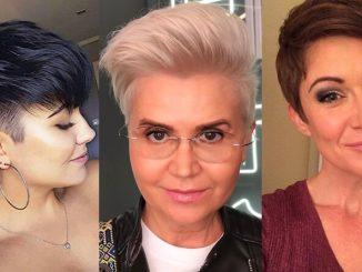 Tunsori păr scurt 2020 , perfecte pentru a întineri cu peste 10 ani! - SteMir